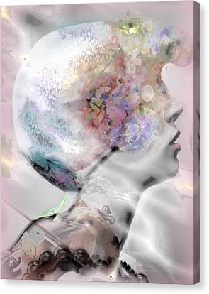 Masque Eclatant Canvas Print
