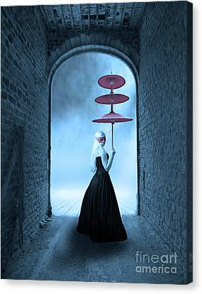 Canvas Print featuring the photograph Masquerade by Juli Scalzi