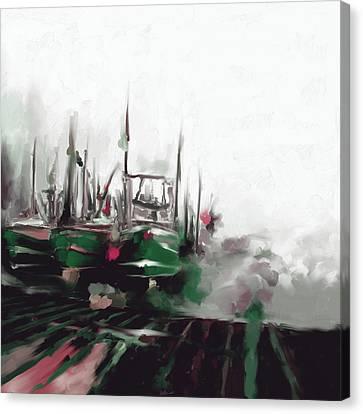 Massachusetts I 481 2 Canvas Print by Mawra Tahreem