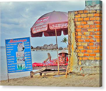 Massage. Exoticism. Canvas Print by Andy Za