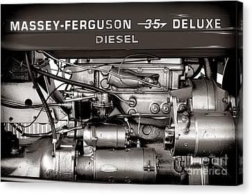 Massey Ferguson 35 Deluxe  Canvas Print