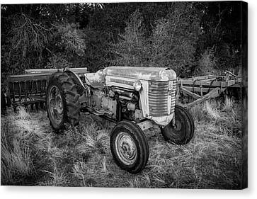 Massey Ferguson 50 Series Tractor Canvas Print
