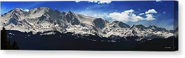 Massive View Canvas Print by Darryl Gallegos