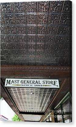Canvas Print featuring the photograph Mast General Store II by Skip Willits