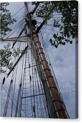 Mast Canvas Print by Test