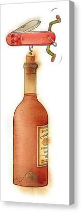 Master Pocketknife 02 Canvas Print by Kestutis Kasparavicius
