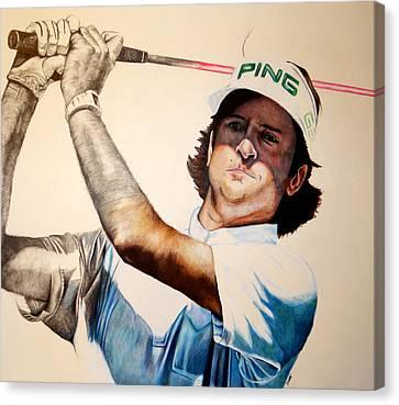 Masters Champ Canvas Print by Jake Stapleton