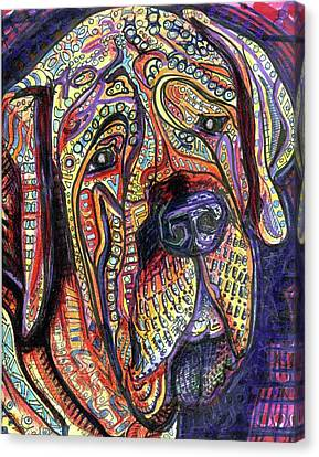 Mastiff Canvas Print