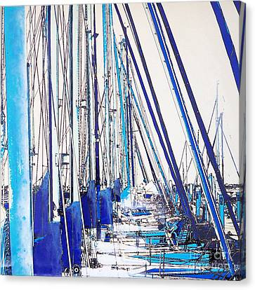 Masts Canvas Print