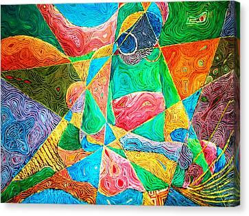 Mat Weaver Canvas Print by Bankole Abe
