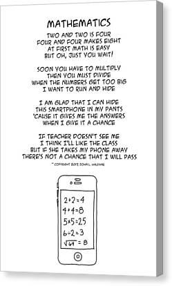 Mathematics Canvas Print