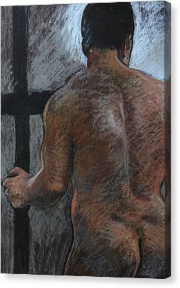 Mathew's Back. Canvas Print