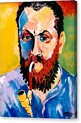 Matisse Canvas Print by Hans Doller