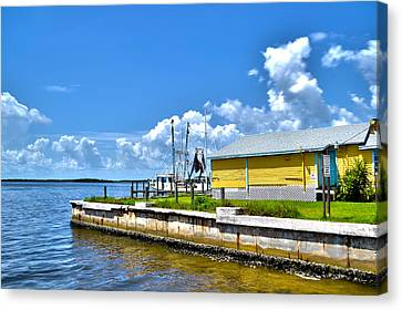 Canvas Print featuring the photograph Matlacha Florida Waterway by Timothy Lowry