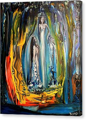 Liquid Matrimony For Life Canvas Print