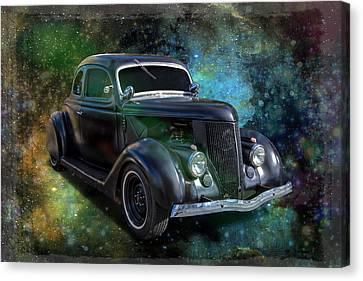 Matt Black Coupe Canvas Print by Keith Hawley