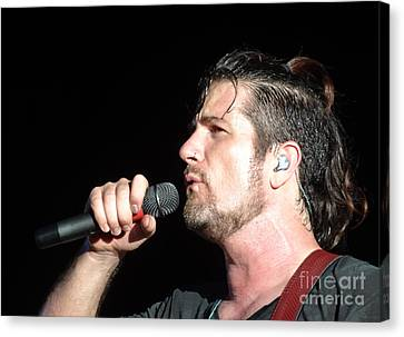 Matt Nathanson Canvas Print by Cindy Manero
