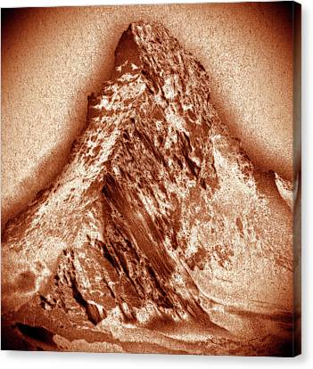 Matterhorn Mountain Canvas Print by Frank Tschakert
