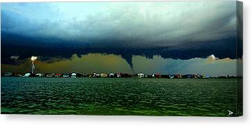 Matthew Approaches Canvas Print by David Lee Thompson