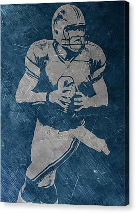 Matthew Stafford Detroit Lions Canvas Print by Joe Hamilton