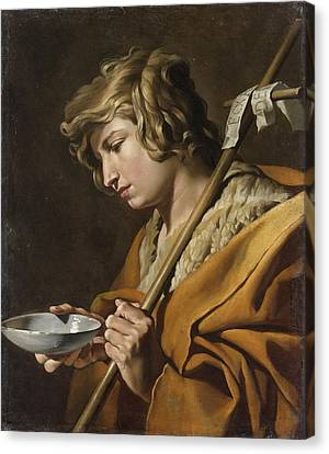 John The Baptist Canvas Print by Celestial Images