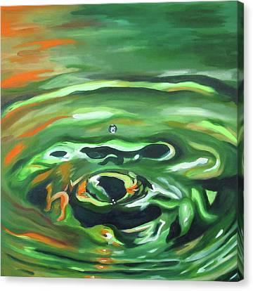 Mattie's Drop Canvas Print by Dani Altieri Marinucci