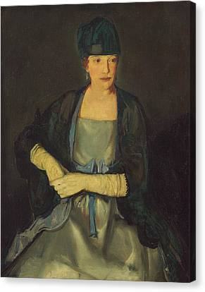 Maud Dale Canvas Print by George Bellows