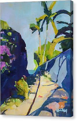 Maui Beach Path Canvas Print