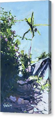 Maui Bougainvillea Canvas Print