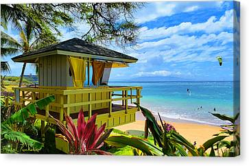 Maui Kamaole Beach Canvas Print
