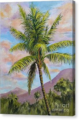 Maui Palm Canvas Print