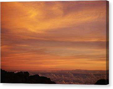 Maui Sunrise Canvas Print