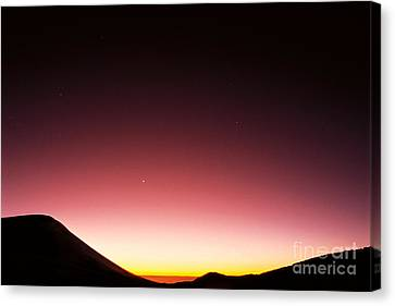 Mauna Kea, Summit Canvas Print by Mary Van de Ven - Printscapes