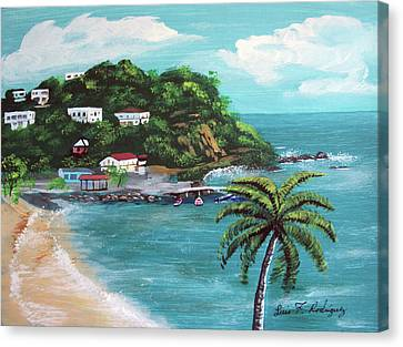 Maunabo Puerto Rico Canvas Print by Luis F Rodriguez