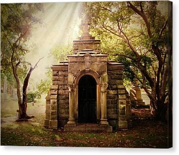 Mausoleum  Canvas Print by Jessica Jenney