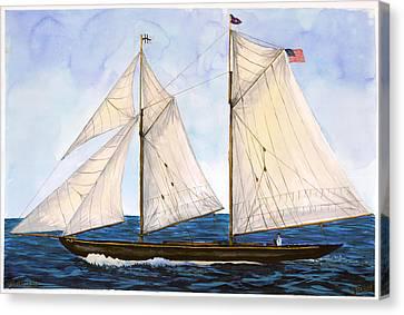 Mavis 1901 Canvas Print by Cindy Hitchcock