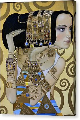 Mavlo - Klimt A Canvas Print by Valeriy Mavlo