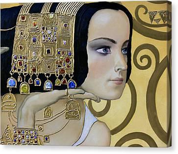 Mavlo - Klimt B Canvas Print by Valeriy Mavlo