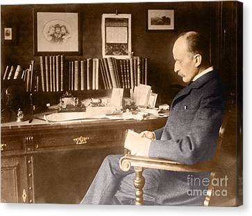 Max Planck, German Physicist Canvas Print by Science Source