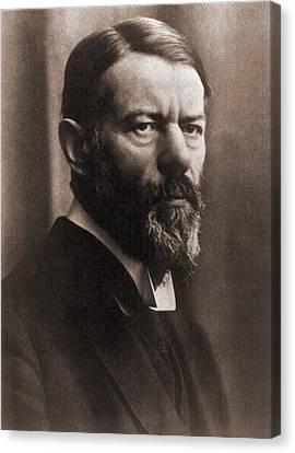 Max Weber 1864-1920, German Political Canvas Print by Everett