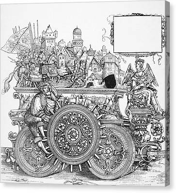 Maximilian I 1459-1519 Canvas Print by Granger
