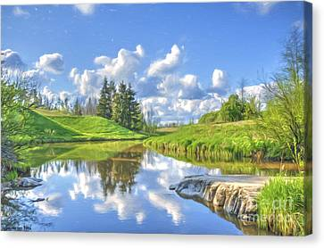 May Afternoon Canvas Print