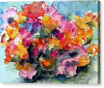 May Flowers Canvas Print by Anne Duke