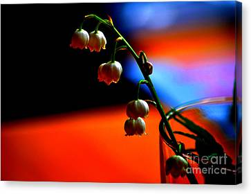 Canvas Print featuring the photograph May Flowers by Susanne Van Hulst