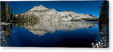 May Lake Panorama Canvas Print