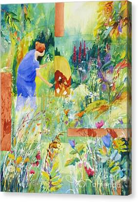 May Meadow Canvas Print