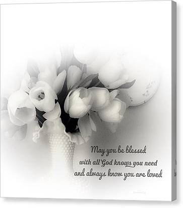 May You Be Blessed Canvas Print