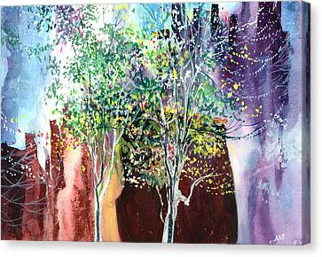 Maya Canvas Print by Anil Nene