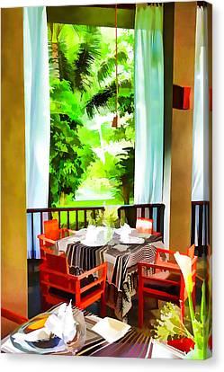 Maya Sari Mas Canvas Print by Lanjee Chee