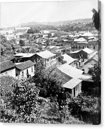 Mayaguez - Puerto Rico - C 1900 Canvas Print by International  Images